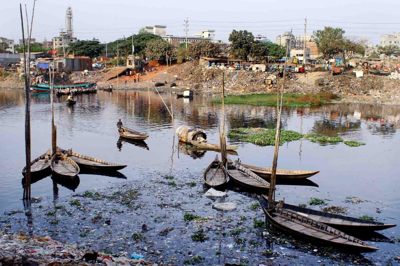 A Dying River- Buriganga