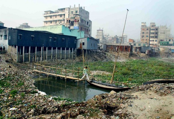 A Dying River- Buriganga